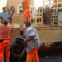 Roma, tavolino selvaggio: al Ghetto rimozioni e multe per oltre 100 mila euro