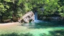 A un'ora da Roma  il piccolo lago smeraldo