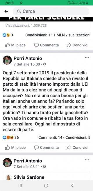 Sindaco del Viterbese attacca Mattarella su Facebook. E ribalta la foto in sala consiliare