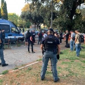 Roma, controlli antidegrado al Colle Oppio: 25 arresti