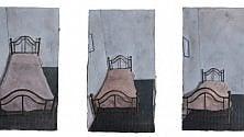 In mostra la polvere  dei dipinti di Azzizia