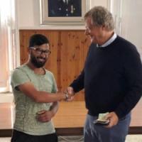 Rasal, l'ambulante che ha restituito 2mila euro: