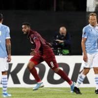 Europa League, Cluj-Lazio 2-1: Bastos illude, Deac e Omrani firmano la rimonta