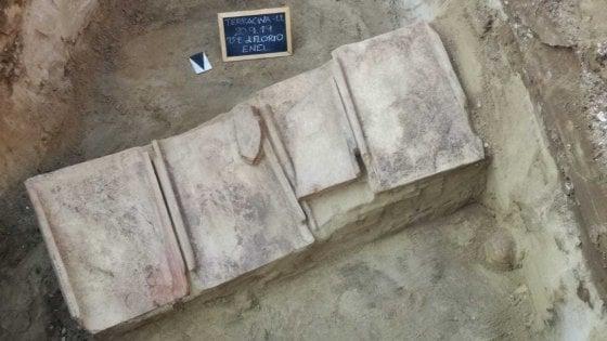 Terracina, scoperte quattro tombe romane di età imperiale