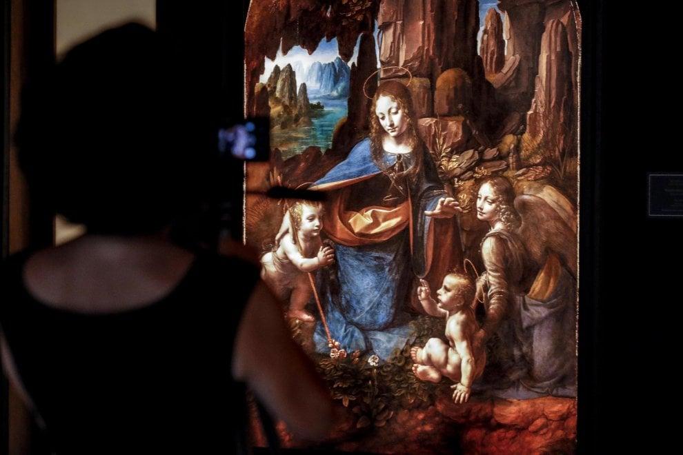 """Sulle orme del genio di Leonardo, a caccia di """"Gioconde"""": la mostra a Roma"""