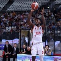 Basket, Roma-Cremona 97-94: Dyson e Buford riportano la Virtus al successo