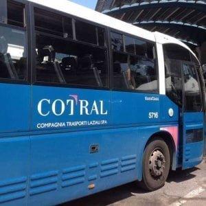 Trasporti a Roma, sabato sciopero di 24 ore della rete Cotral