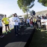 """Memorial Cucchi a Roma, partecipa anche sindaca Raggi: """"Grazie Ilaria, per non aver mai mollato"""""""