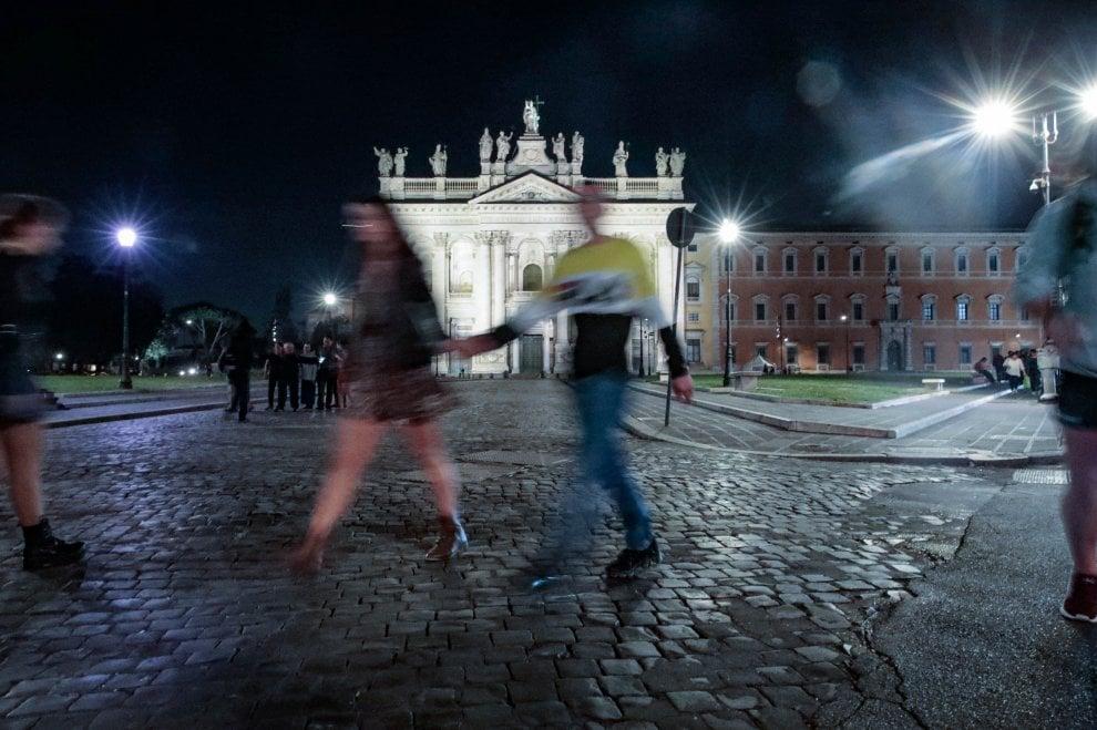 Luci su San Giovanni: la basilica di Roma brilla con la nuova illuminazione