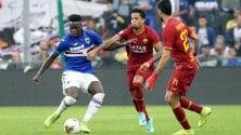 Sampdoria-Roma 0-0  La cronaca