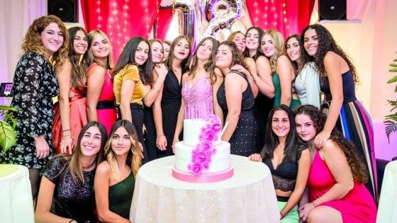 Fanta-show per i 18 anni. Il compleanno è un business a Roma