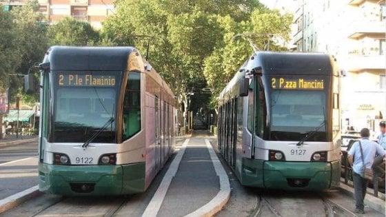 Campidoglio, chiesti al Mit 3,8 milioni per sei nuove tramvie. E se avanzano soldi anche la funivia Clodio-Monte Mario