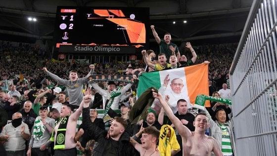 Disordini Lazio-Celtic, ferito un altro tifoso scozzese. Arrestati in tutto 12 ultras biancocelesti