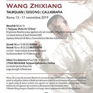 Alla Sapienza di Roma, il Taiji Quan: seminario con Wang Zhixiang