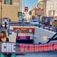 Metro Roma, a dicembre riapre la fermata Barberini, ma solo in uscita