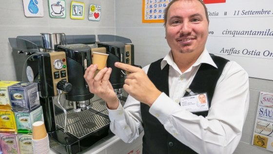 Ostia, è plastic-free il bar Anffas gestito da giovani disabili
