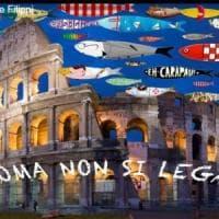 """Sardine anche a Roma: """"Il Lazio non si Lega, riusciamo a essere un milione in piazza?"""""""