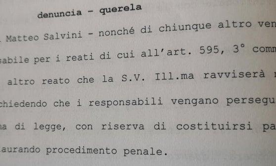 """Caso Cucchi, Ilaria deposita querela contro Salvini: """"Ora basta fare spettacolo sulla nostra pelle"""""""