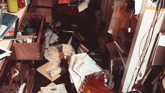 Roma, furto notturno nella libreria Giufà di San Lorenzo