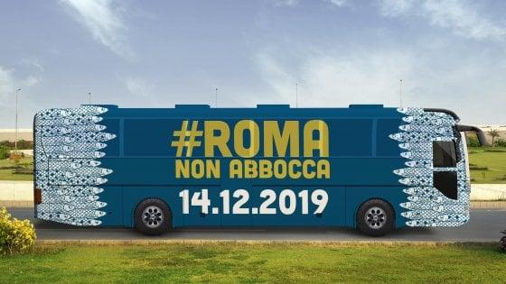 """Roma, le Sardine a Raggi: """"Lei in piazza con noi? Ok, ma lasci fuori i 5S"""""""