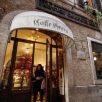 Roma, il Caffè Greco, è