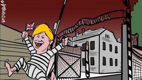 """""""La Ue come un lager"""": polemica sul vignettista scelto da Raggi per i fumetti di educazione civica"""