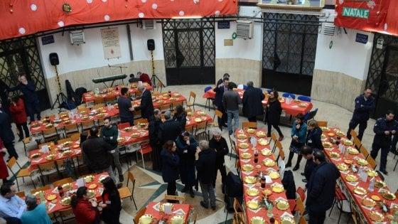 Comunità di Sant'Egidio, il pranzo di Santo Stefano con i detenuti di Regina Coeli