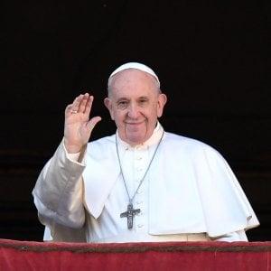 Papa Francesco in una parrocchia romana per funerali di una sua amica