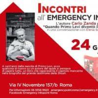 Roma, Emergency e la Shoah attraverso la figura di Primo Levi