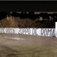 """Calcio, domani derby Capitale: striscione shock su Zaniolo """"zoppo de Roma"""""""