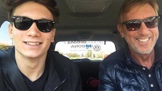 """Manuel Bortuzzo, un anno fa lo sparo. Il padre Franco su Fb: """"Più forti di prima, daje"""""""