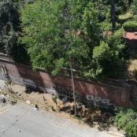 Roma, dopo il crollo del muro ancora nessun intervento a Villa Mercede