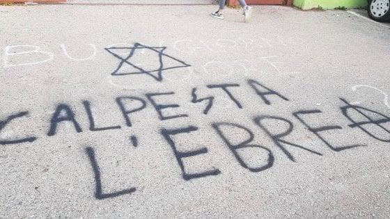 """Scritte antisemite a Pomezia, sabato 15 febbraio il presidio """"anti-odio"""""""