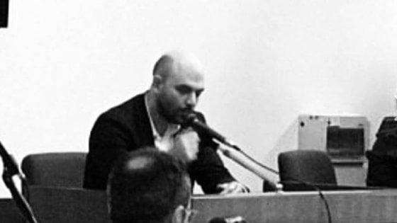 """Roma, Saviano: """"Stormfront, 24 condanne per incitamento all'odio razziale. Ecco perché è servito aver denunciato il sito neonazista"""""""