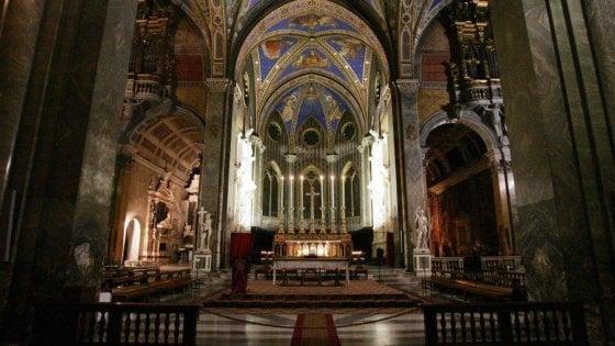Roma, riapre dopo il restauro la chiesa di Santa Maria sopra Minerva