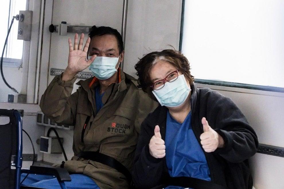 Coronavirus, finalmente dimessa la coppia di cinesi. Furono i primi contagiati in Italia