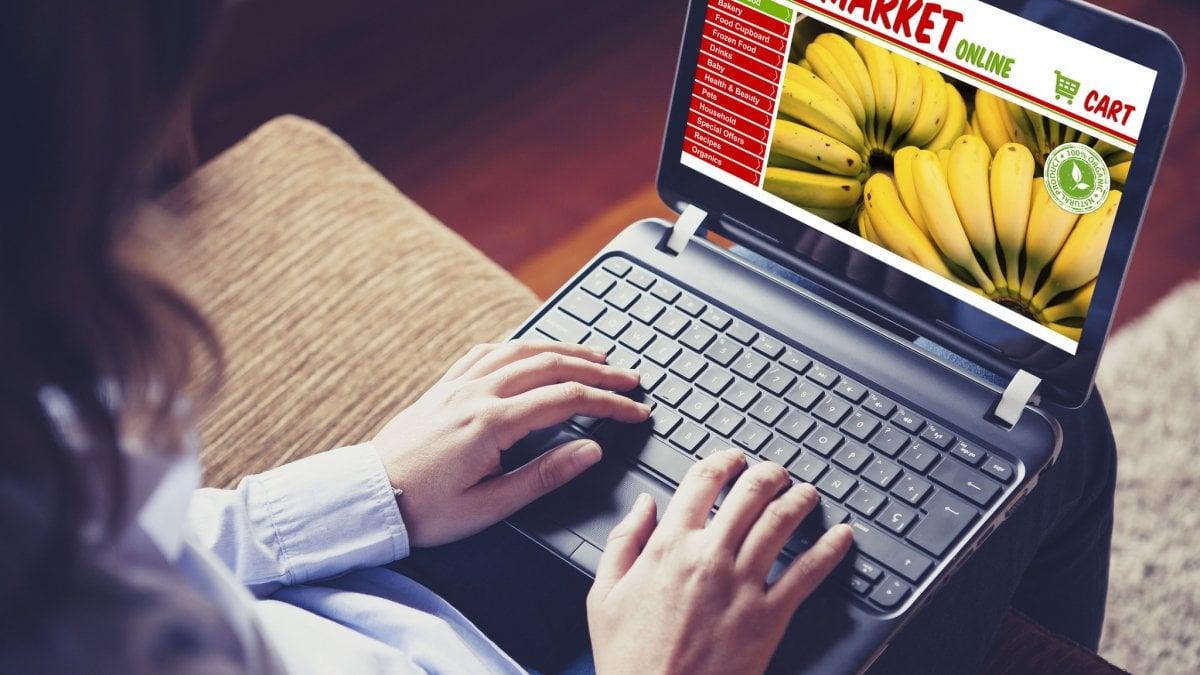 Coronavirus E Spesa Online In Coda Pure Sul Web A Roma Consegne