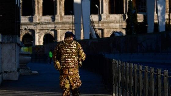 Coronavirus Roma, vertice in prefettura: no ai soldati