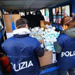 Coronavirus, procura di Roma dona alla protezione civile materiale sequestrato