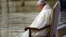 Rep :  Francesco, la pioggia  San Pietro solo per loro