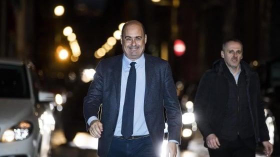 """Nicola Zingaretti annuncia: """"Sono guarito dal coronavirus, ora uniti per battere la bestia"""""""
