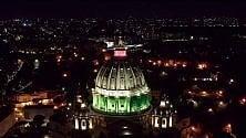 Roma tricolore vista di notte: eterna, deserta e meravigliosa