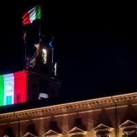 Coronavirus, Quirinale illuminato con il tricolore in memoria delle vittime