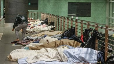 Coronavirus, una palestra per alloggiare  migranti e clochard della stazione Tiburtina