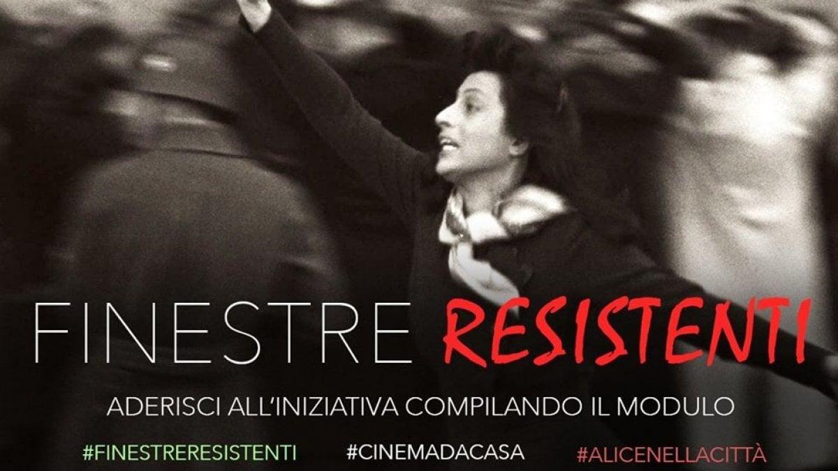 Roma, dalle finestre il cinema sulla Resistenza - la Repubblica