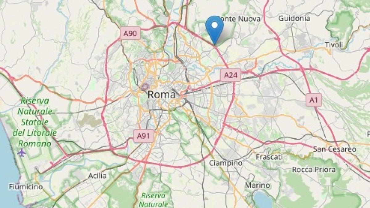 Terremoto a Roma, magnitudo 3,3: scossa all'alba avvertita in gran ...