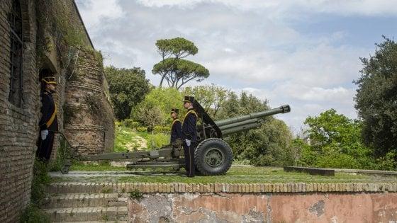 Roma, il cannone del Gianicolo resta muto: niente sparo a mezzogiorno