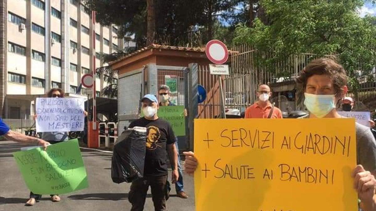 Manutenzione Giardini Milano E Provincia il verde di roma, parchi e giardini senza manutenzione blitz
