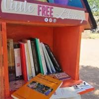 """Roma, """"prendi un libro, lascia un libro"""": a Dragona la piccola libreria gratuita degli studenti della Sapienza"""