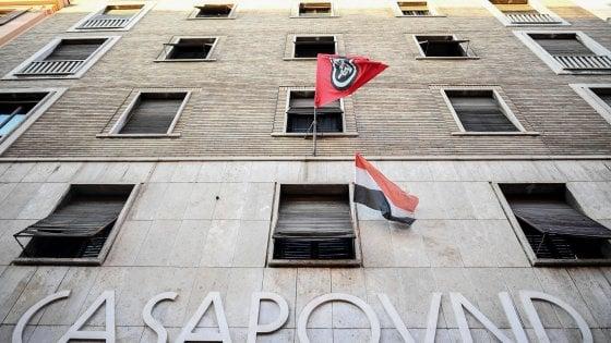 """Casapound, """"reato di occupazione abusiva"""": la Procura seques"""